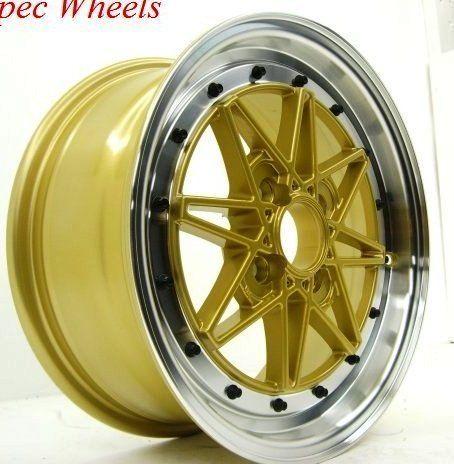 Rota Flashback 15x6 5 4x100 ET40 Royal Gold Wheels