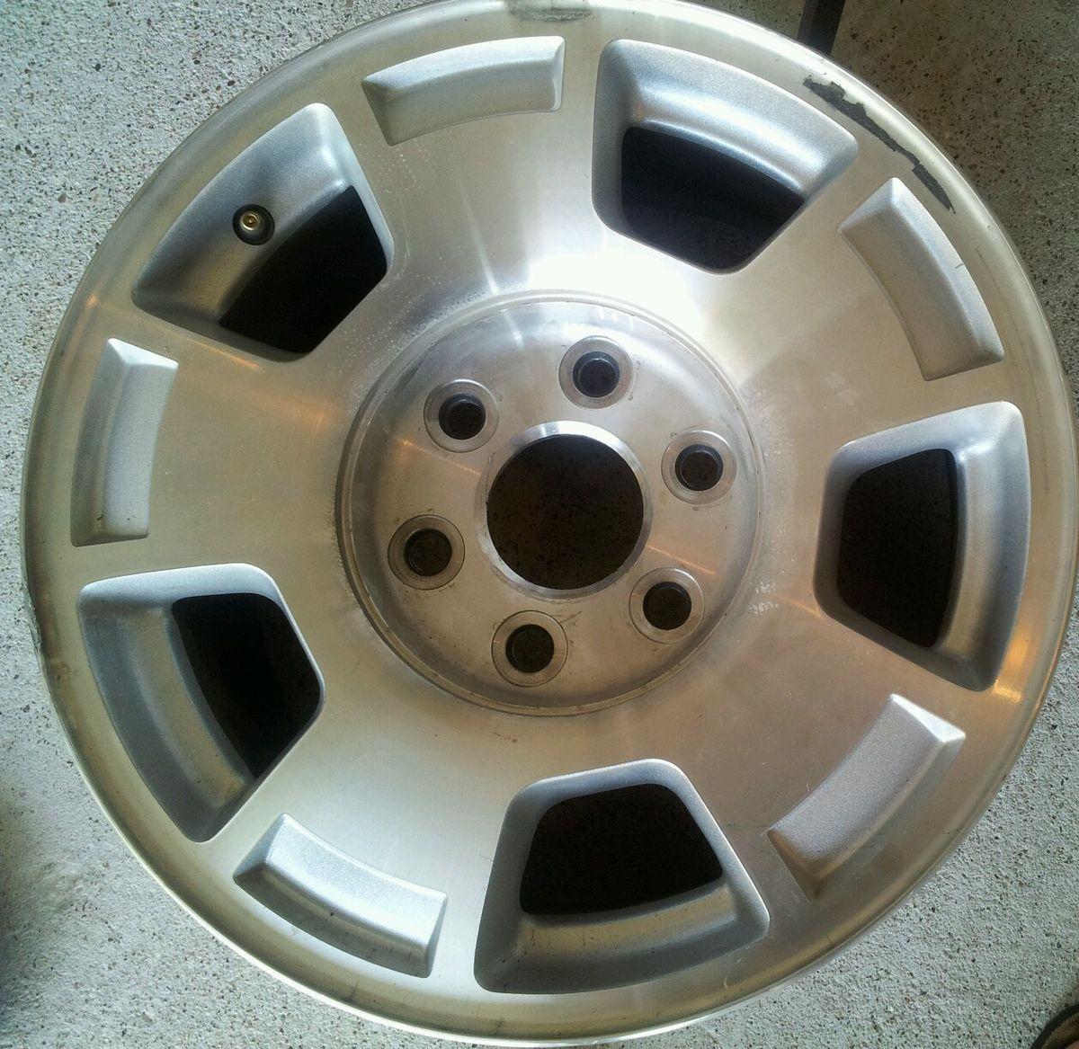 5299 Chevy 1500 Silverado Tahoe 17 Factory Alloy Wheels Rims 4