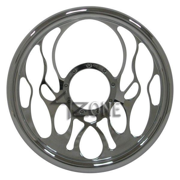 14 Chrome Full Billet Aluminum Steering Wheel 9 Hole 67 94 Chevy GMC