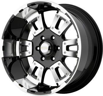 20 inch DIAMO 17 Karat Black Wheels Rims 5x5 5 5x139 7 Dodge RAM 1500