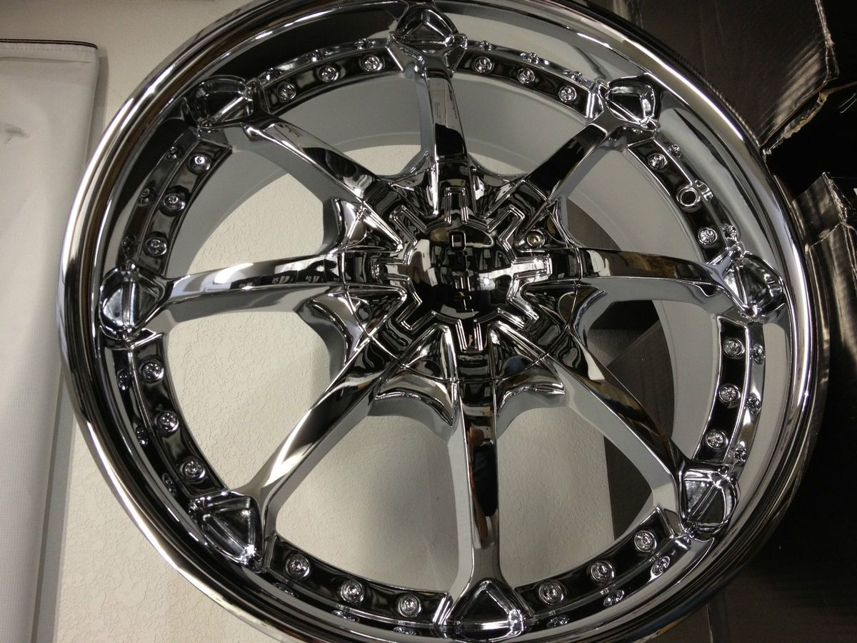 20 Inch Helo 871 Chrome Wheels Rims Ford F150 Expedition Lincoln