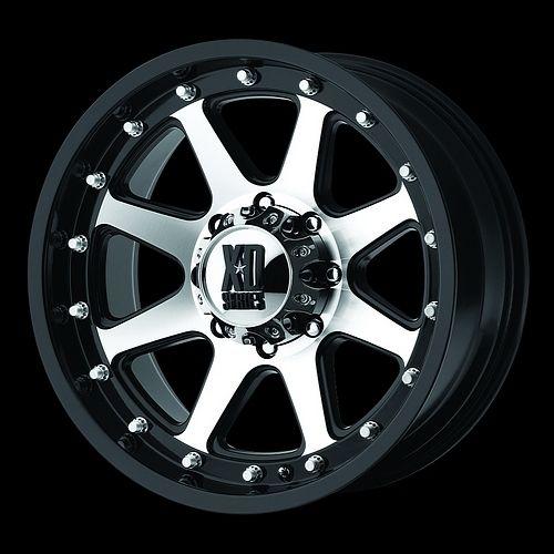 18 Black Wheels Tires 8x165 Chevy GMC Dodge 265 70 18 Falken Wild at