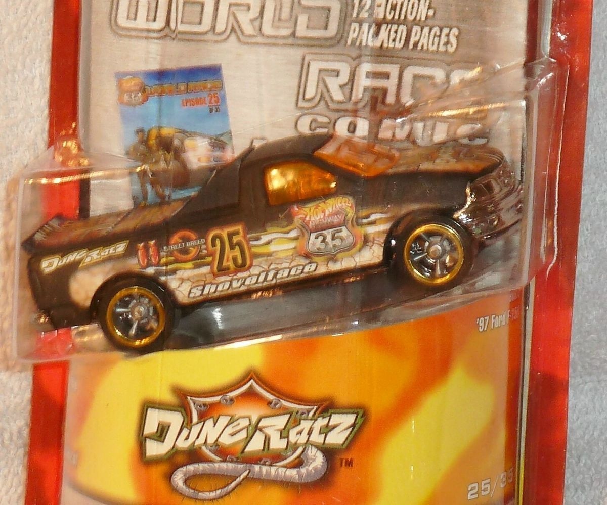 HOT WHEELS Ford F 150  World Race Comic Book Highway 35