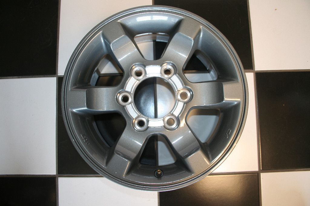 NISSAN FRONTIER 15 CHARCOAL FACTORY OEM WHEEL / RIM 62406 B (Single)