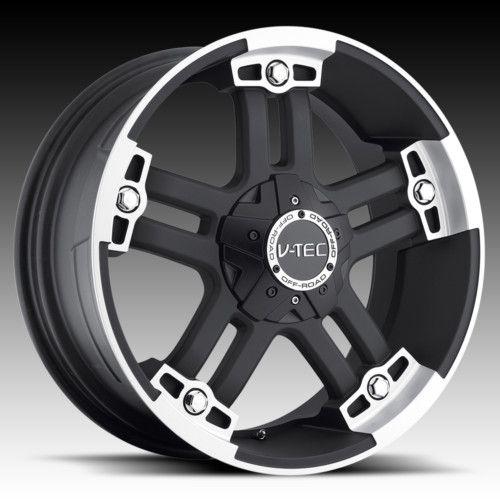 18 vtec 394 Black Wheels Rims Ford Excursion 2WD 4WD
