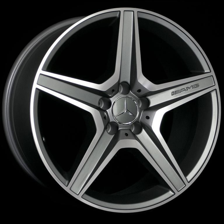 18 AMG STYLE STAGGERED WHEELS 5X112 RIM FITS MERCEDES BENZ CLK CLASS