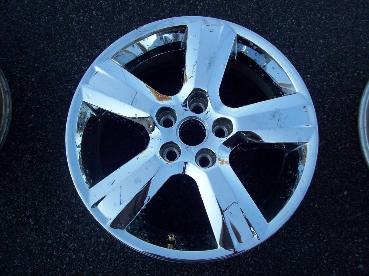 Chevrolet Malibu Wheel Rim 2010 2011 2012 Factory Chrome Clad 17 5436