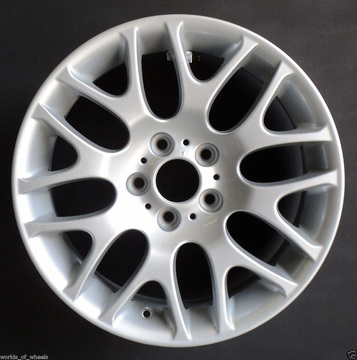 07 08 10 BMW 3 Series Snowflake 18 Front Factory OEM Wheel Rim H 59615