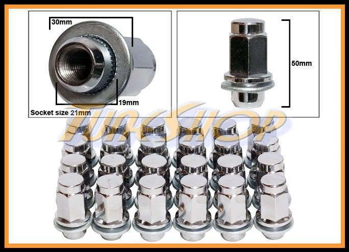 50mm Toyota OE Stock Factory Wheels Rim Mag Lug Nuts 12x1 5 1 5