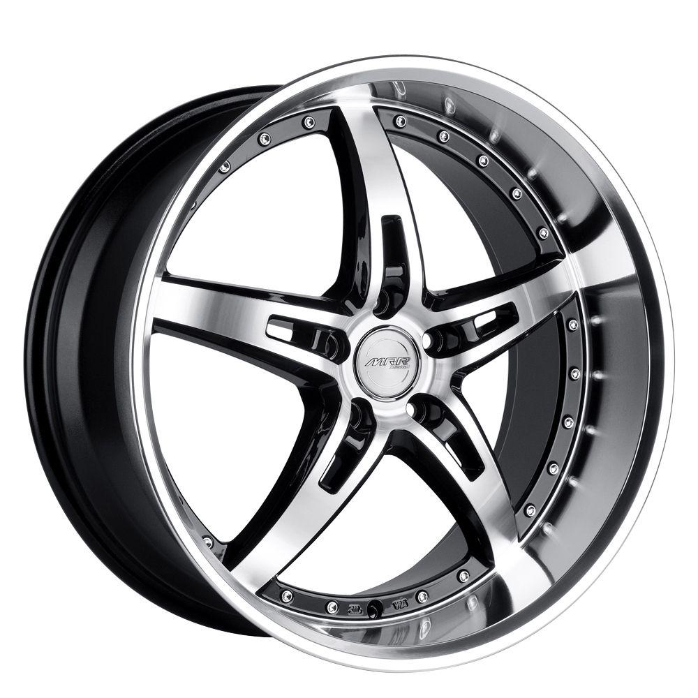 19 MRR GT5 Black Wheels Rims Fit Lexus ES GS RX LS SC300 sc400 SC430