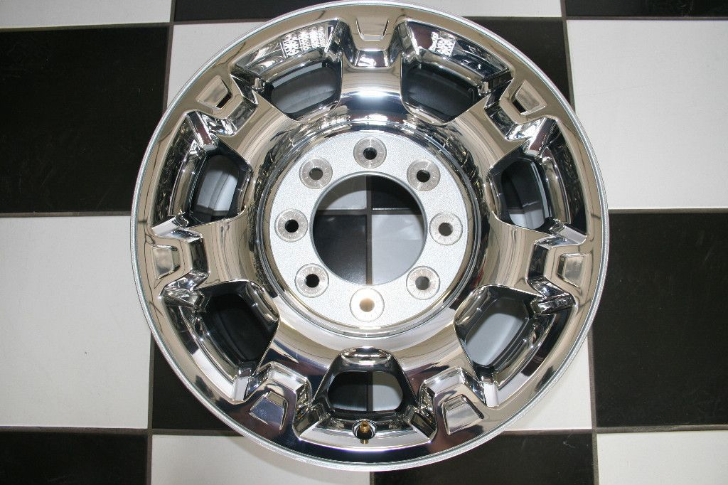 Ford F250 Factory 18 8 Lug Chrome Clad Wheel Rim 3873 Single
